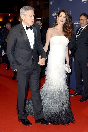 O casal na 'red carpet'