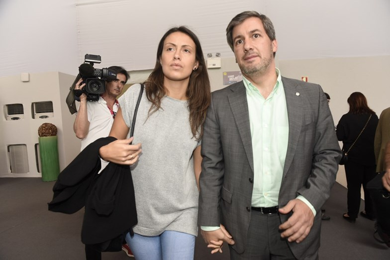 Bruno de Carvalho, Joana Ornelas, Estoril Open