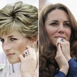 Princesa Diana e Kate Middleton