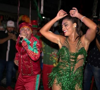 O regresso de Juliana Paes ao sambódromo