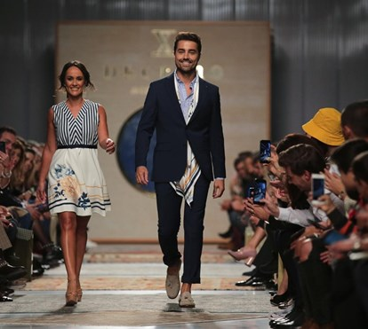 Francisca e Ricardo Pereira encantam no 1.º dia do Portugal Fashion